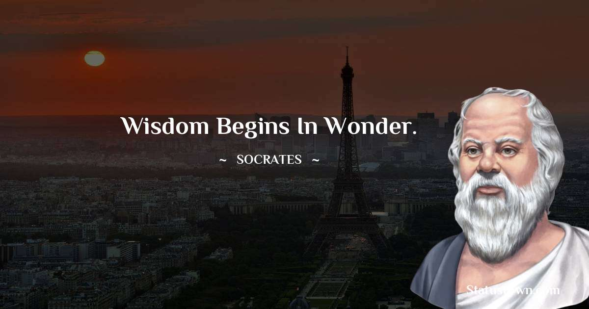 Socrates  Positive Thoughts