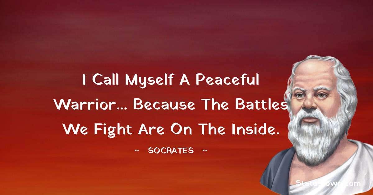 Socrates  Short Quotes