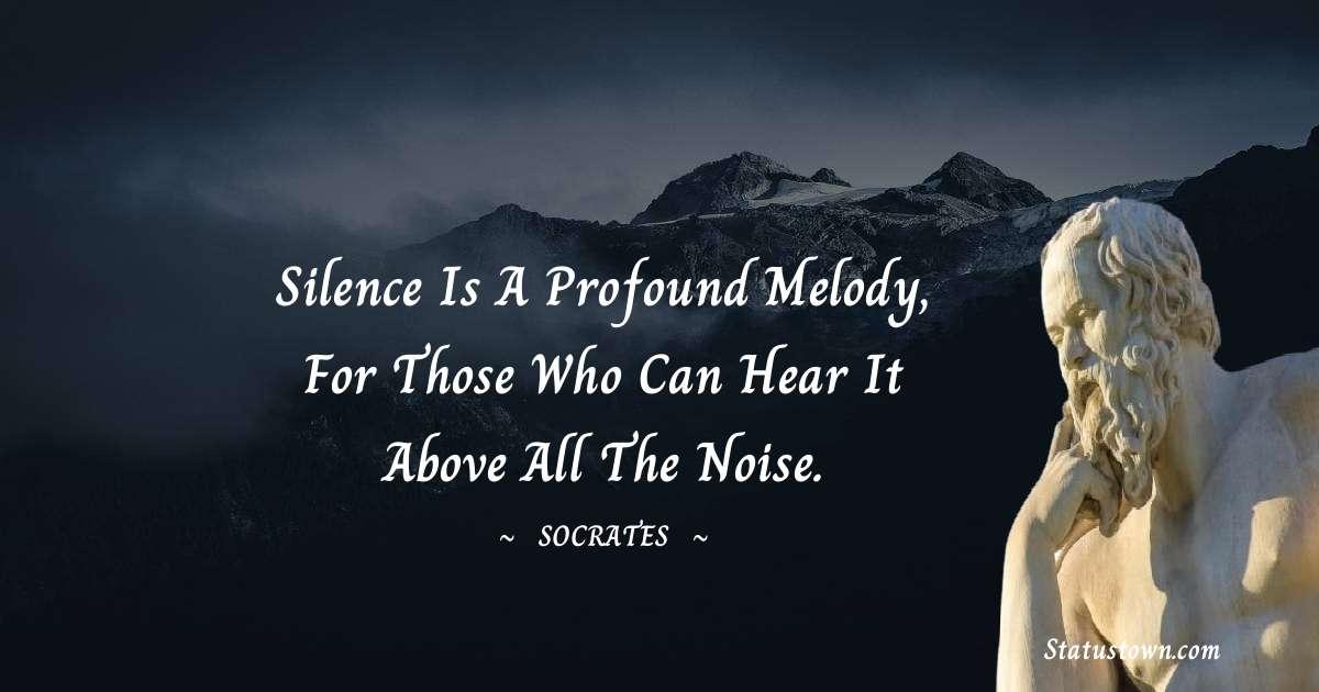 Socrates  Motivational Quotes