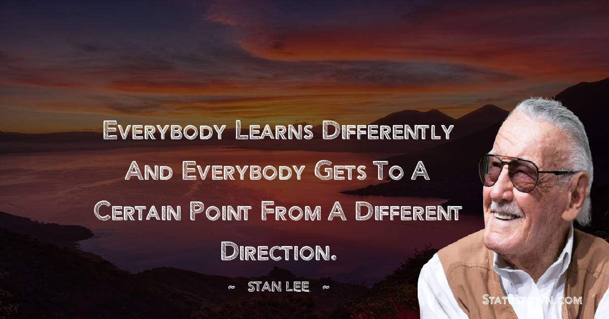 Stan Lee Thoughts