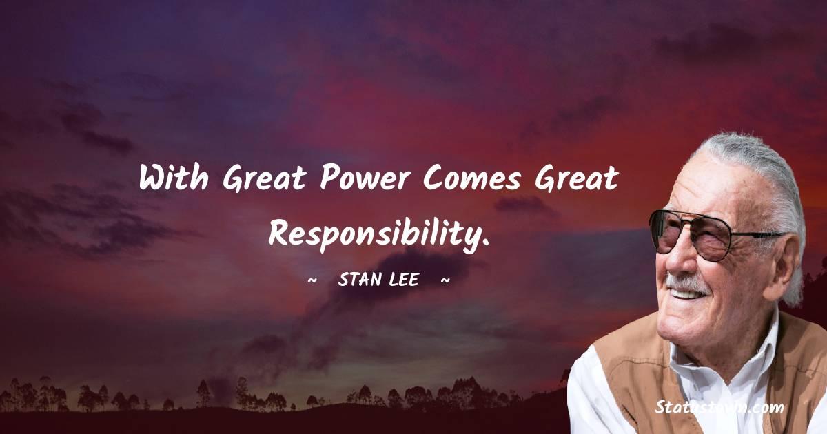 Stan Lee Unique Quotes