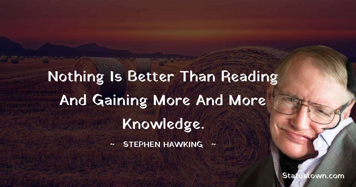 Stephen Hawking Positive Quotes