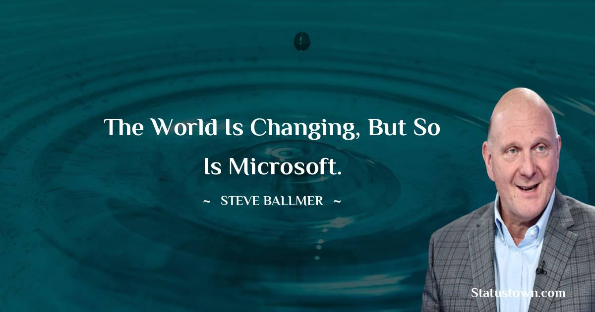 Steve Ballmer Status