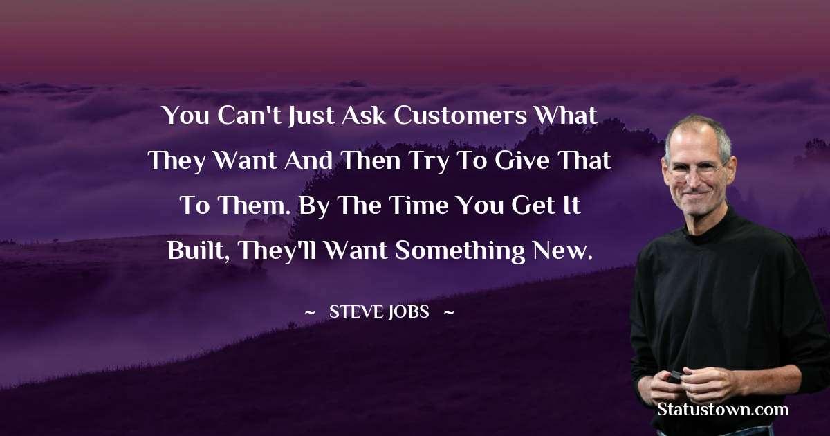 Steve Jobs Positive Quotes