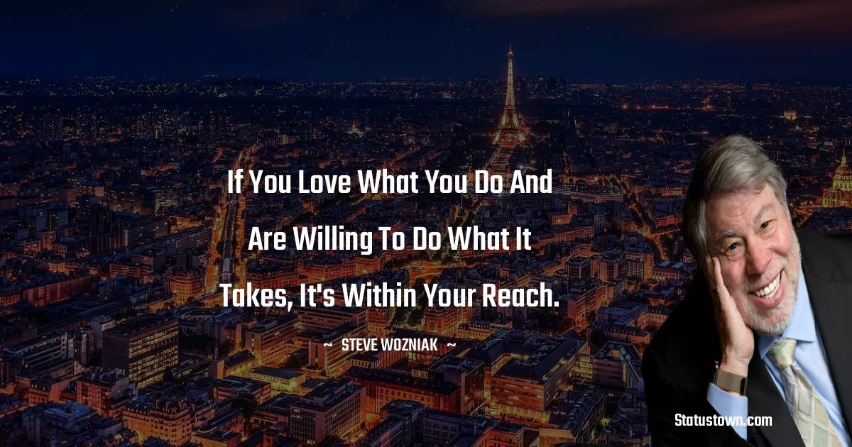 Steve Wozniak Thoughts