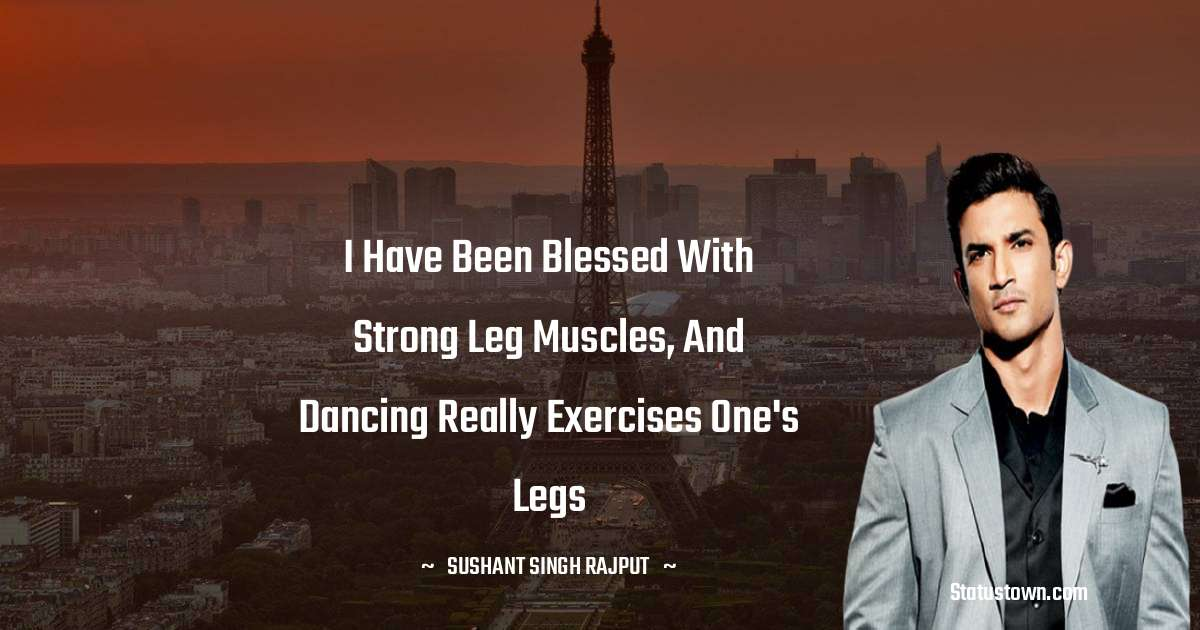 Sushant Singh Rajput Positive Thoughts