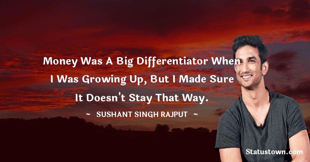 Sushant Singh Rajput Status