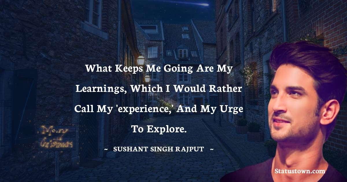 Sushant Singh Rajput Quotes images