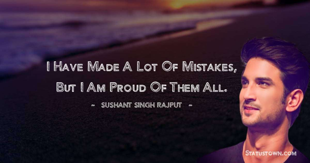 Sushant Singh Rajput Quotes for Students