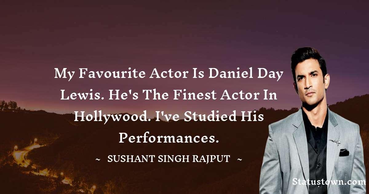 Sushant Singh Rajput Quotes on Failure