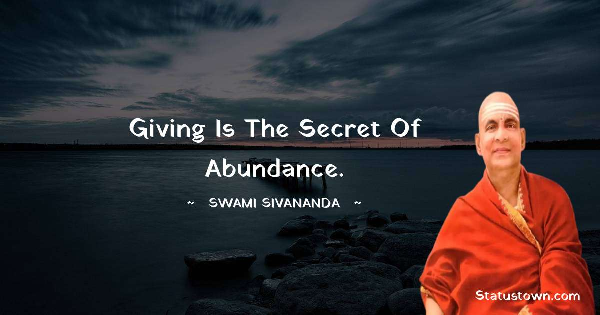 swami sivananda quotes for success