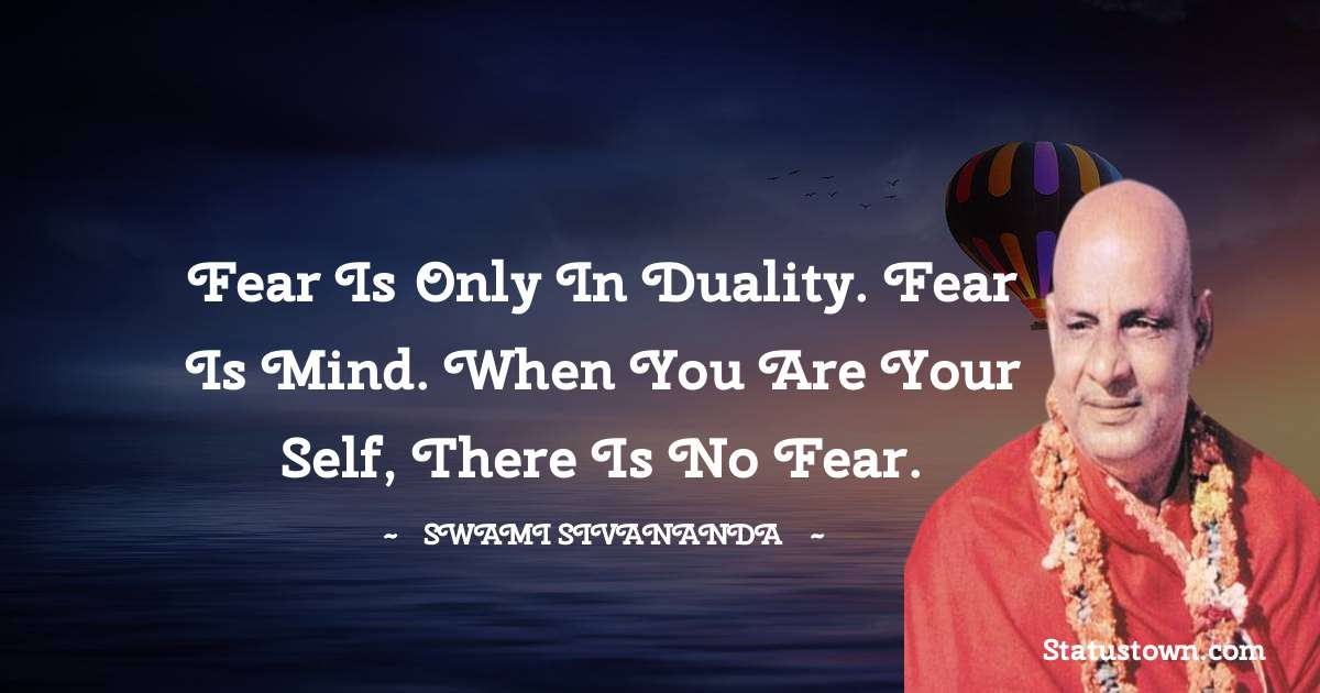 swami sivananda quotes for work