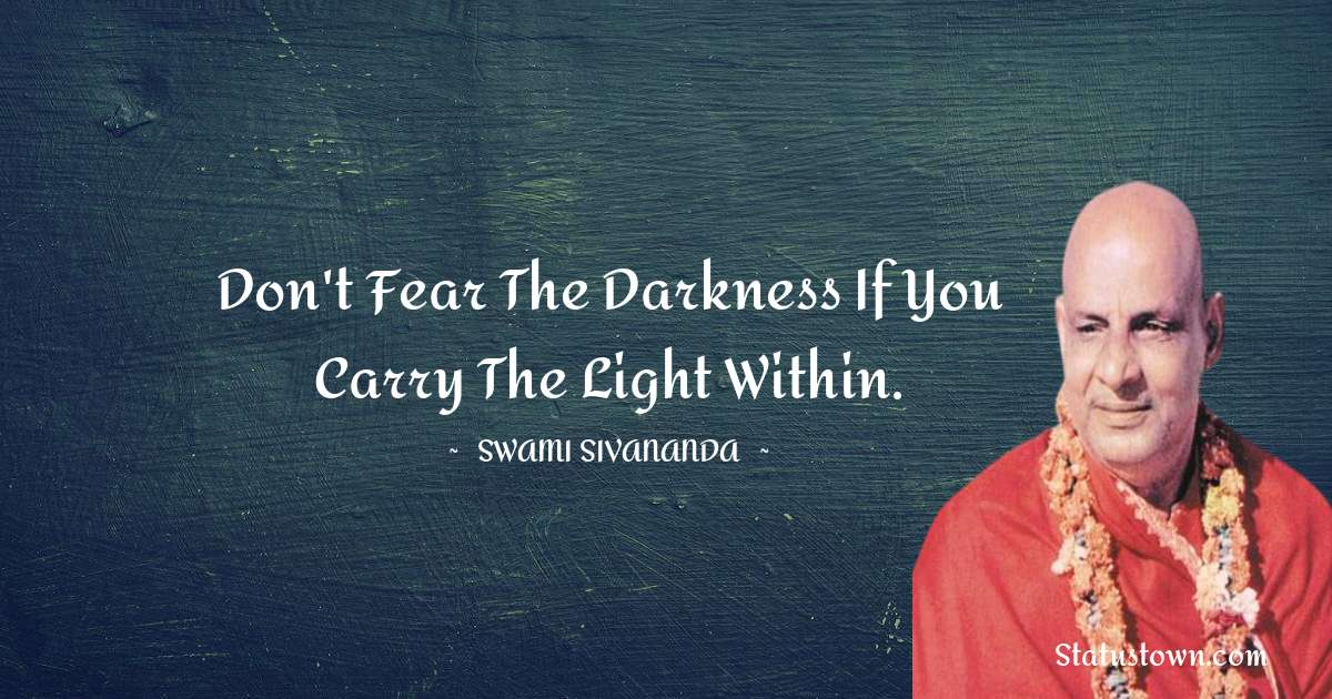 swami sivananda motivational quotes