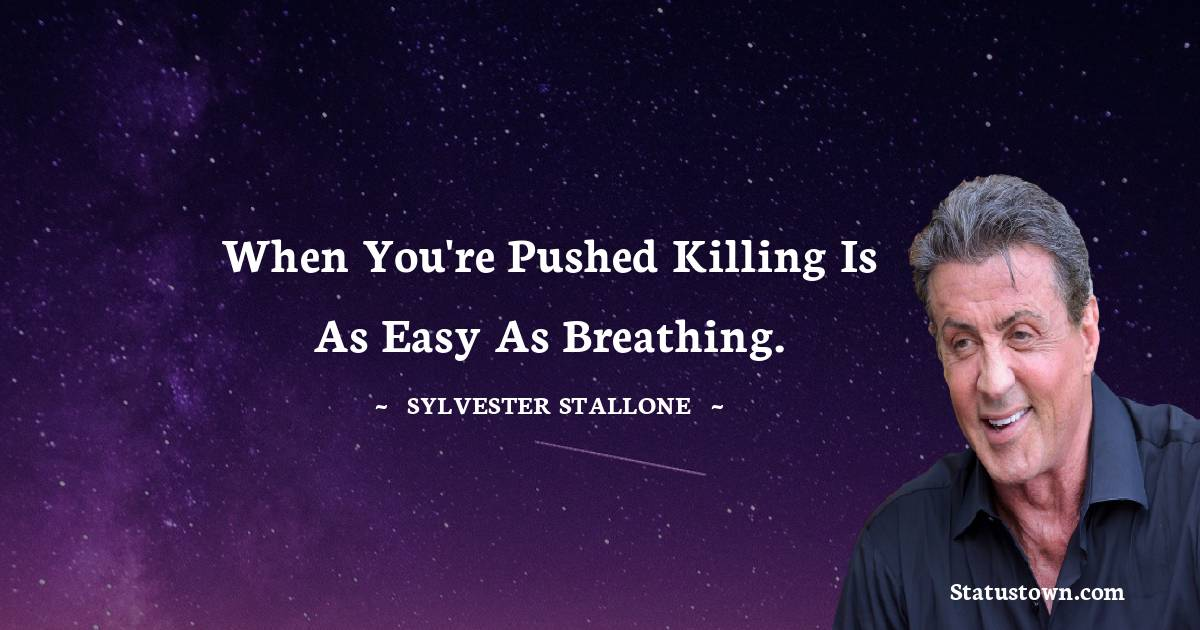 Sylvester Stallone Quotes images