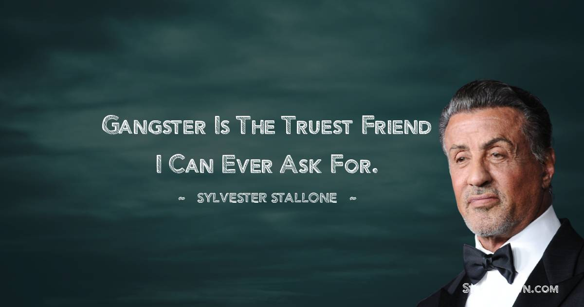 Sylvester Stallone Positive Thoughts