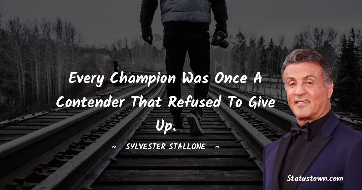 Sylvester Stallone Thoughts