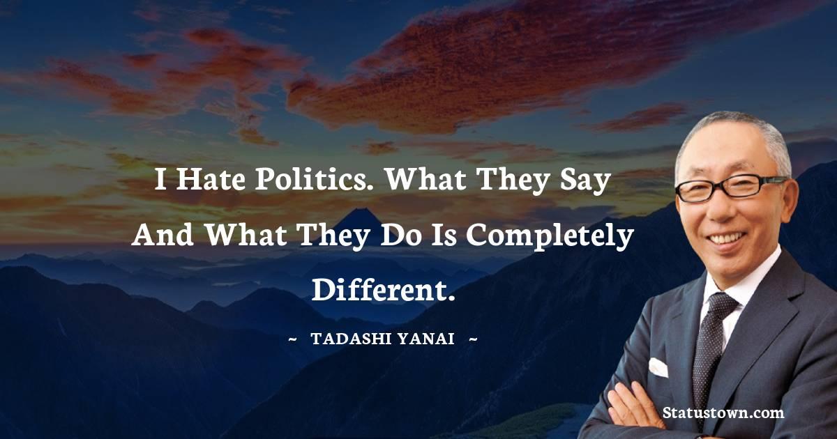 Tadashi Yanai Positive Thoughts