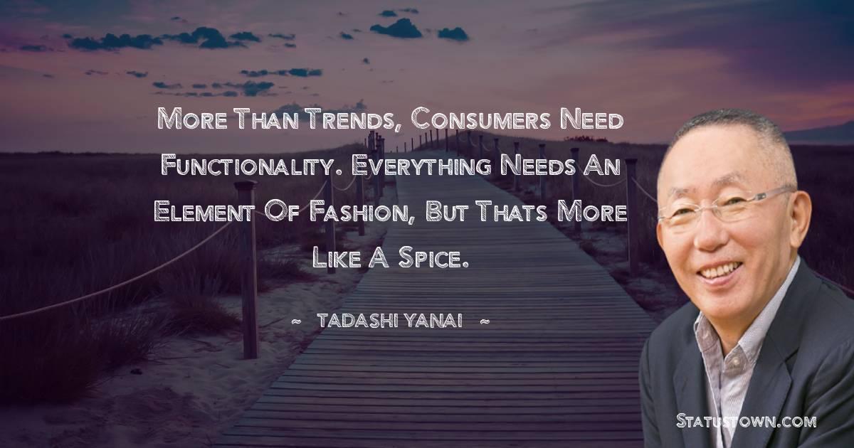 Tadashi Yanai Inspirational Quotes
