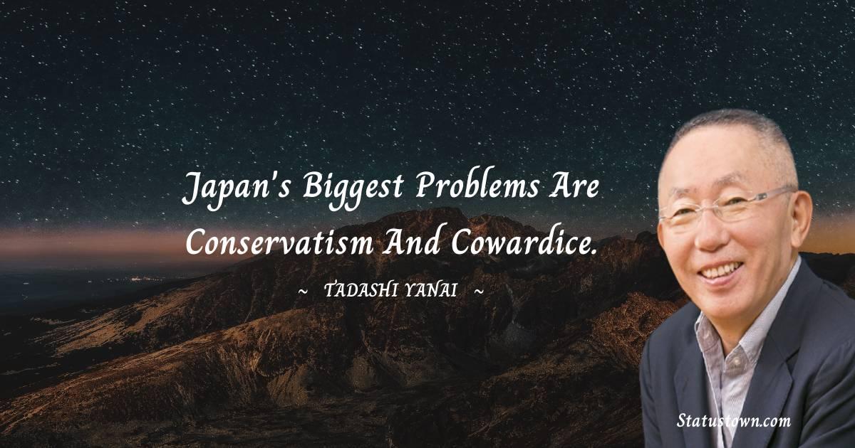 Tadashi Yanai Thoughts