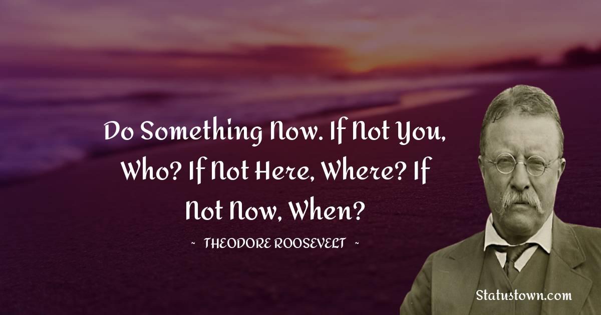 Theodore Roosevelt Short Quotes