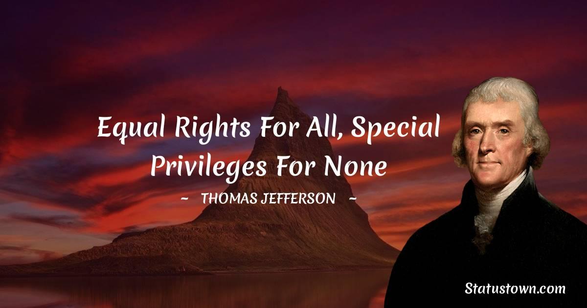Thomas Jefferson Status