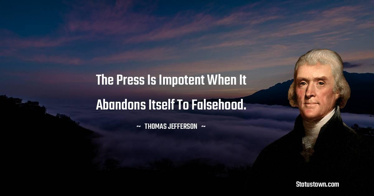 Thomas Jefferson Positive Quotes