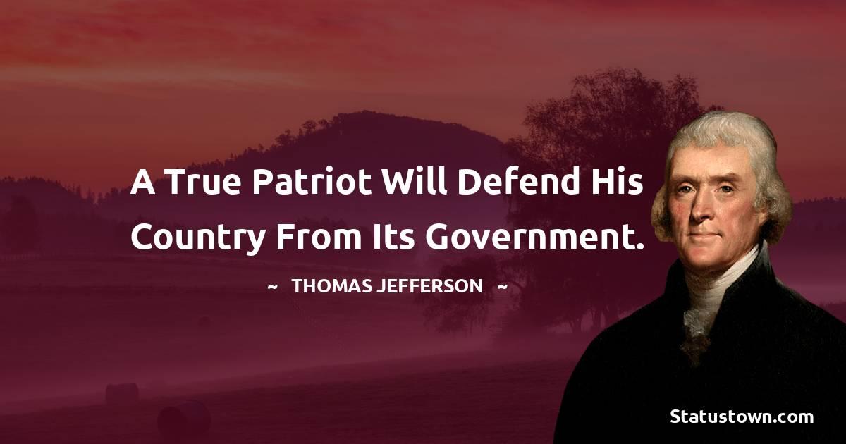 Thomas Jefferson Thoughts