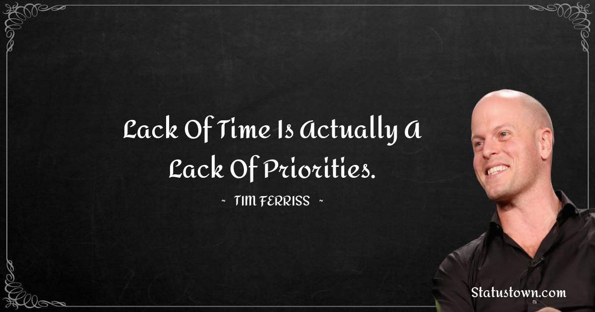 Tim Ferriss Positive Thoughts