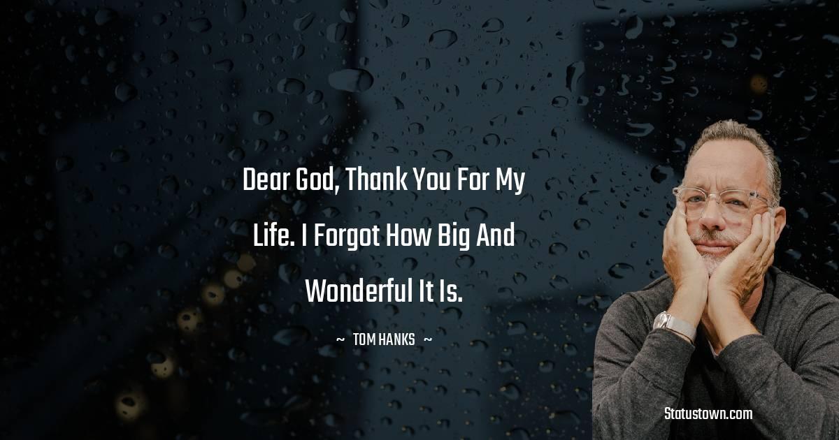 Tom Hanks Status
