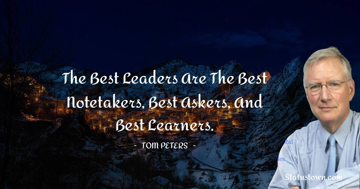 Tom Peters Short Quotes