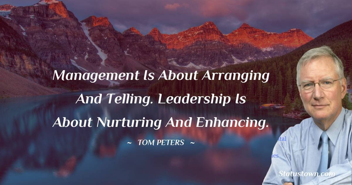Tom Peters Thoughts