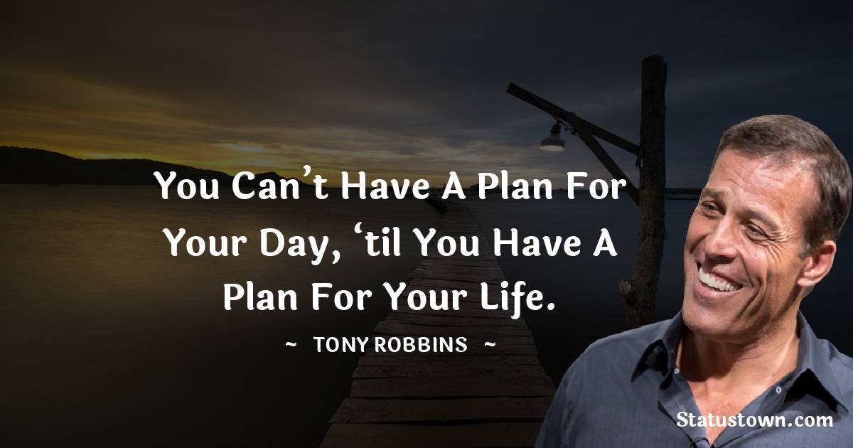 Tony Robbins Positive Thoughts