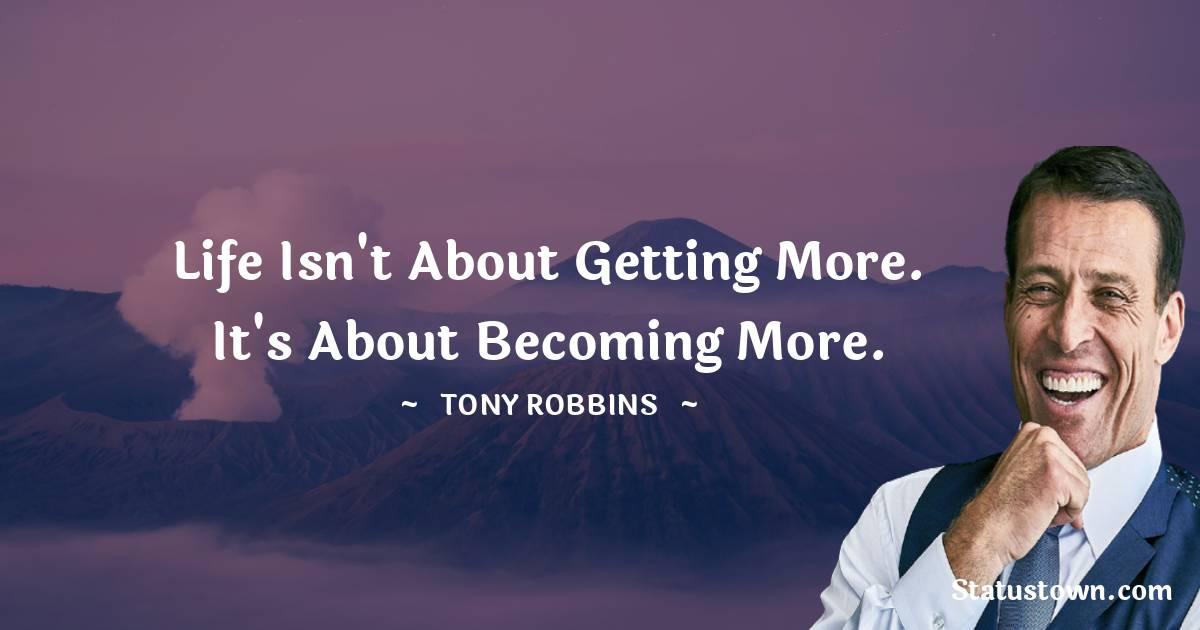 Tony Robbins Short Quotes