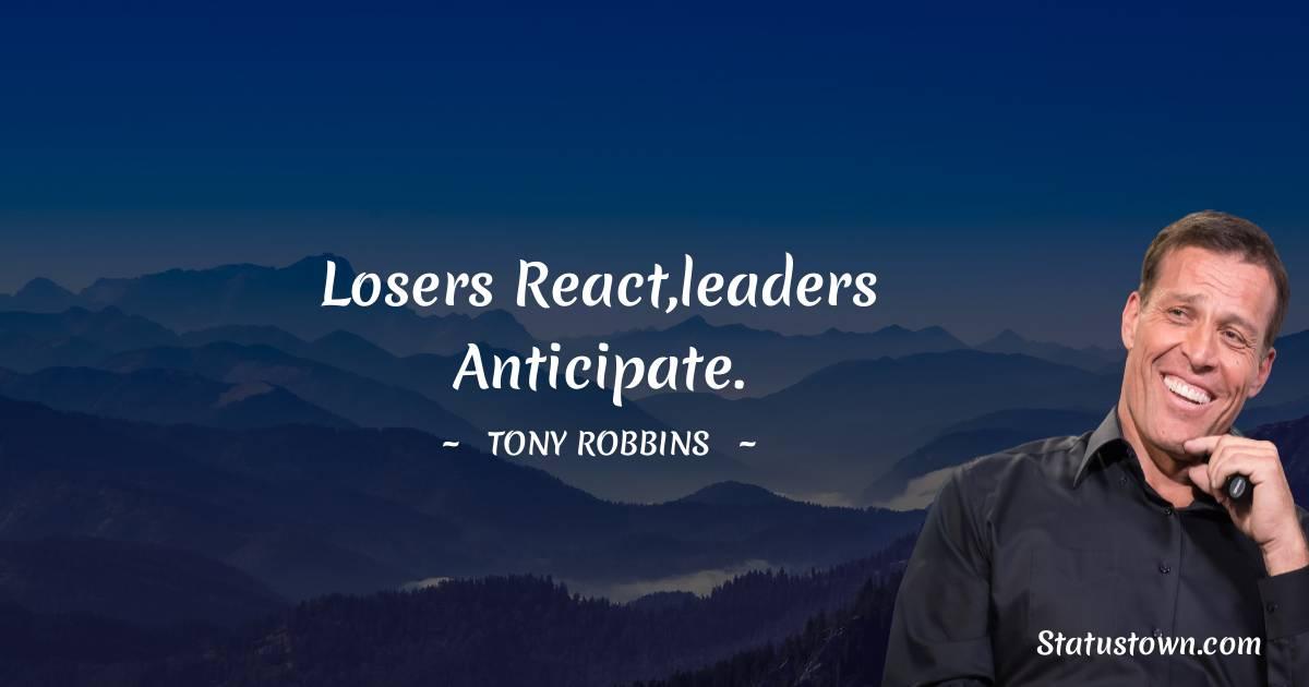 Tony Robbins Thoughts