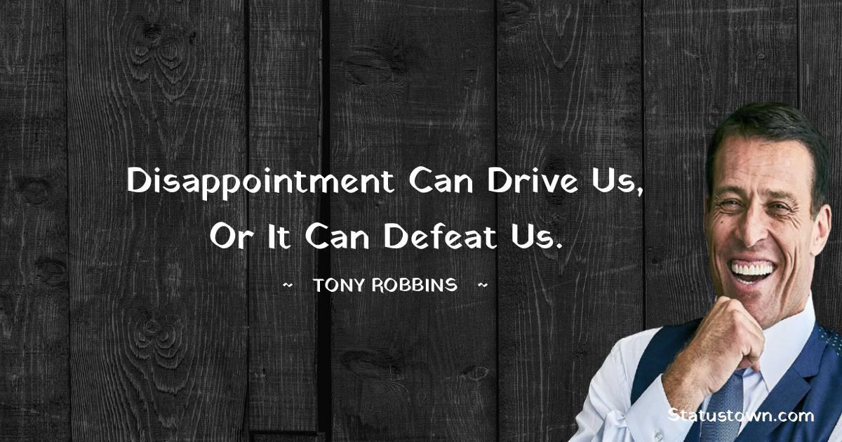 Tony Robbins Unique Quotes