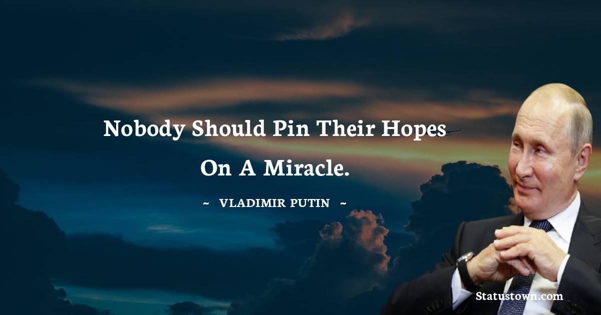 Vladimir Putin Status
