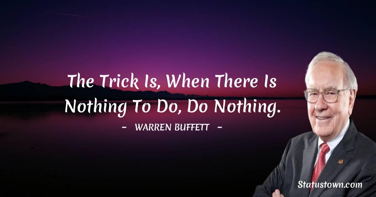 Warren Buffett Positive Thoughts