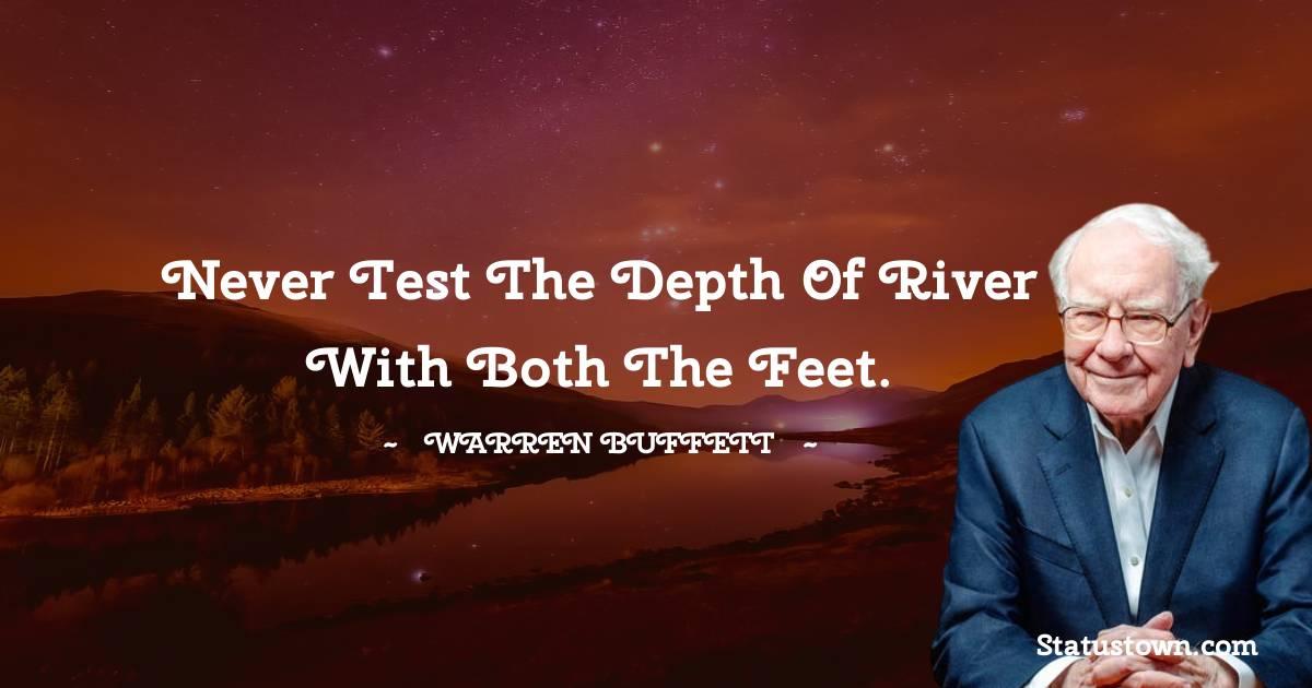 Warren Buffett Short Quotes