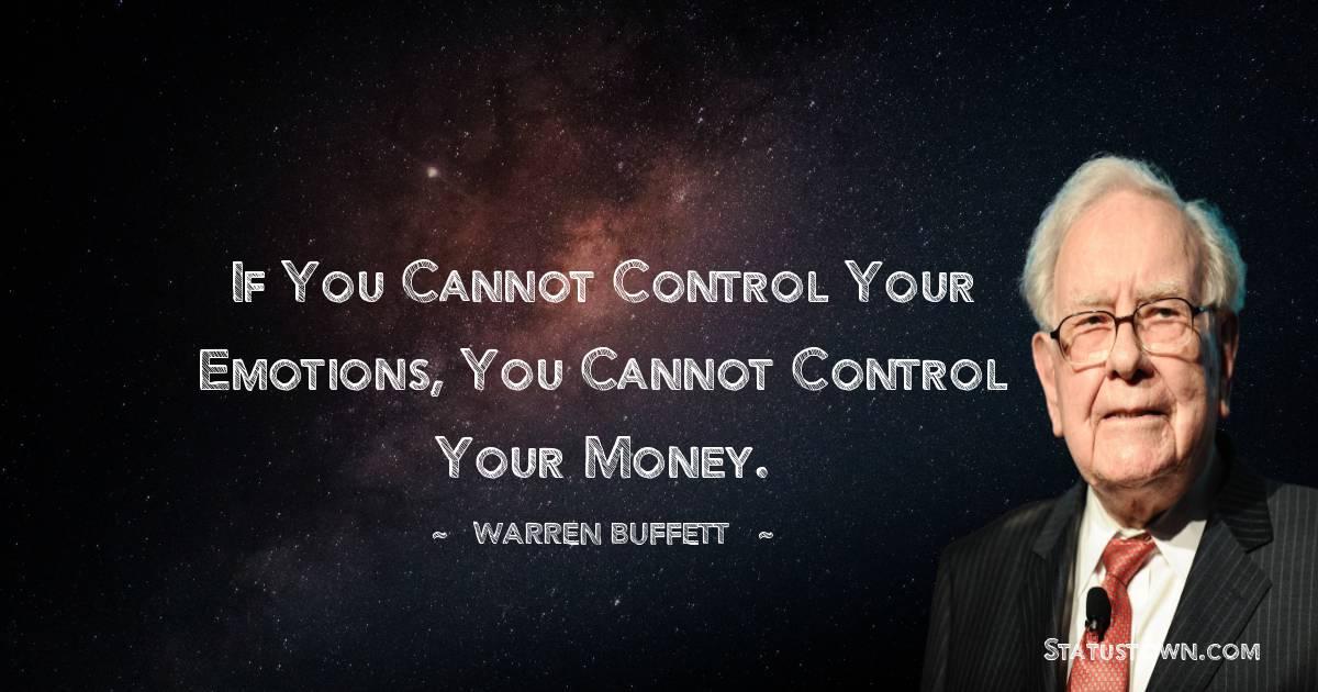 Warren Buffett Positive Quotes