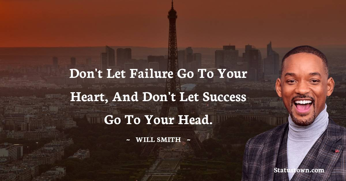Will Smith Positive Thoughts