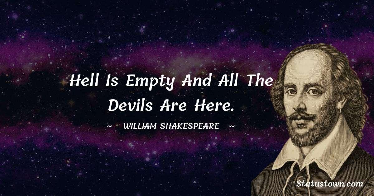 william shakespeare Status