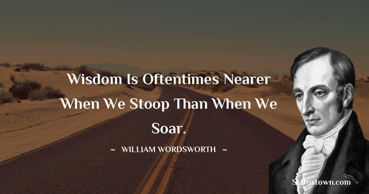 William Wordsworth Status
