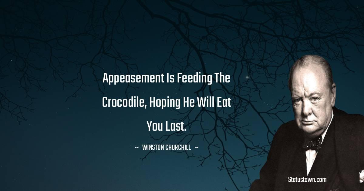 Winston Churchill Status