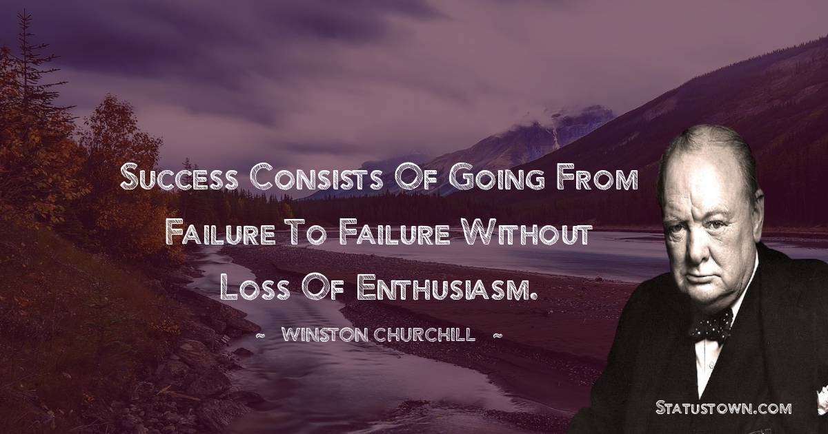 Winston Churchill Positive Thoughts