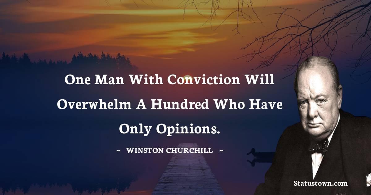 Winston Churchill Short Quotes