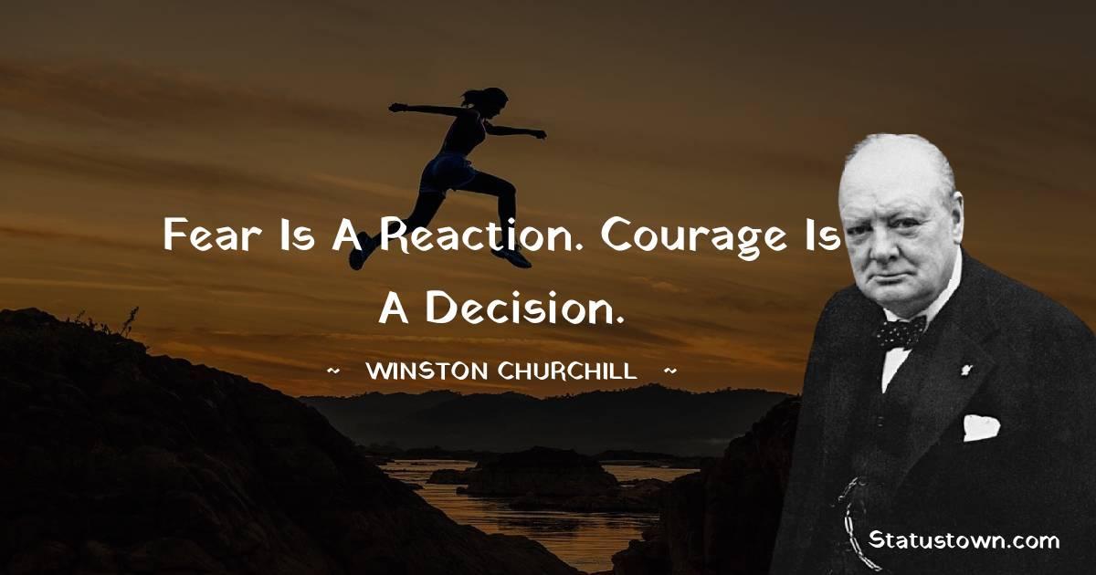 Winston Churchill Unique Quotes