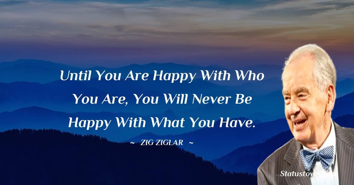 Zig Ziglar Positive Thoughts